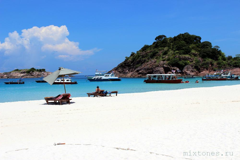 Пляж острова Реданг