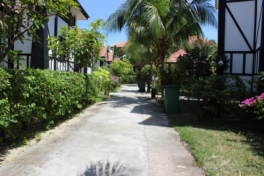 На территории отеля